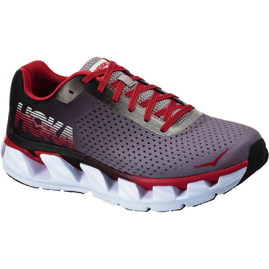(取寄)ホカ オネオネ メンズ エレボン ランニングシューズ Hoka One One Men's Elevon Running Shoe Black/Racing Red