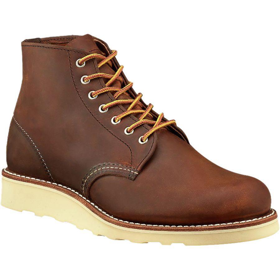 (取寄)レッドウィング レディース ヘリテイジ 6-インチラウンド トー ブーツ Red Wing Women Heritage 6-Inch Round Toe Boot Copper Rough & Tough Leather