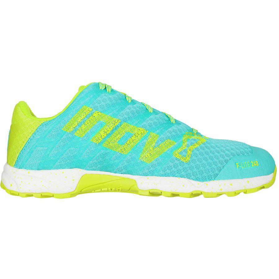 (取寄)イノヴェイト レディース F-Lite240スタンダード フィット ランニングシューズ Inov 8 Women F-Lite 240 Standard Fit Running Shoe Blue/Lime/White