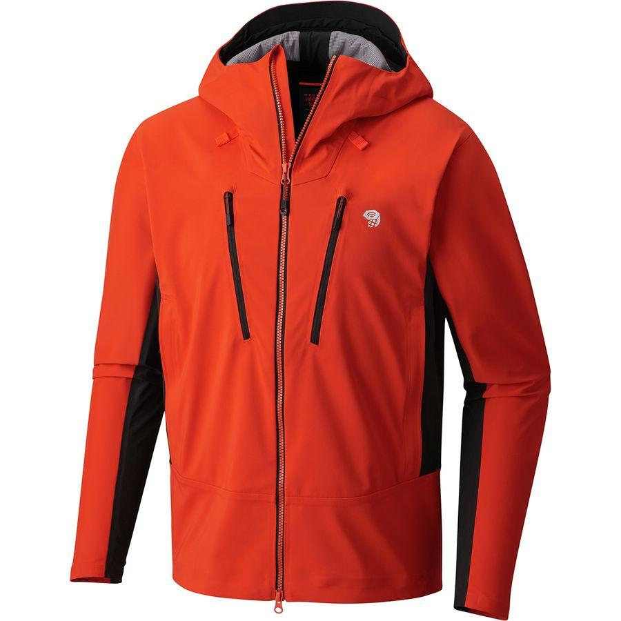 (取寄)マウンテンハードウェア メンズ トーレン フーデッド ジャケット Mountain Hardwear Men's Touren Hooded Jacket State Orange