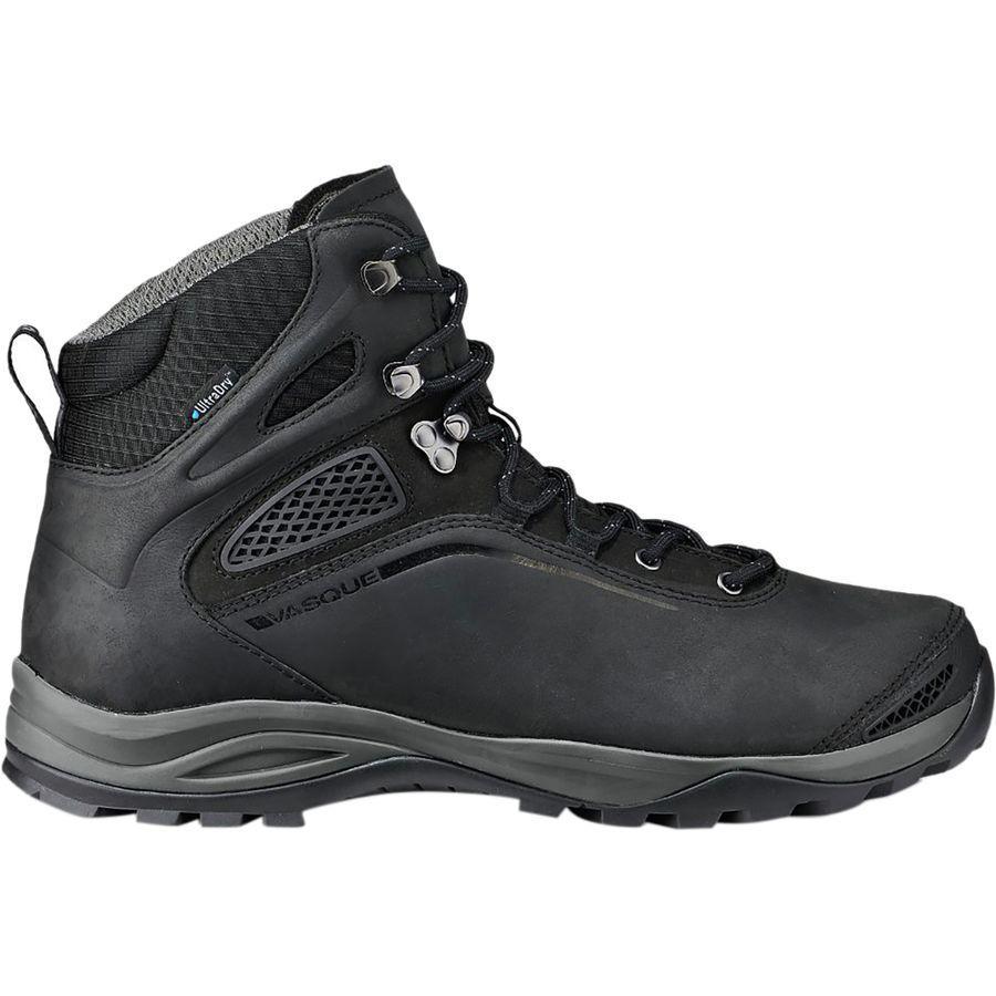 (取寄)バスク メンズ キャニオンランズ ウルトラ ドライ ハイキング ブーツ Vasque Men's Canyonlandas Ultra Dry Hiking Boot Jet Black/Magnet