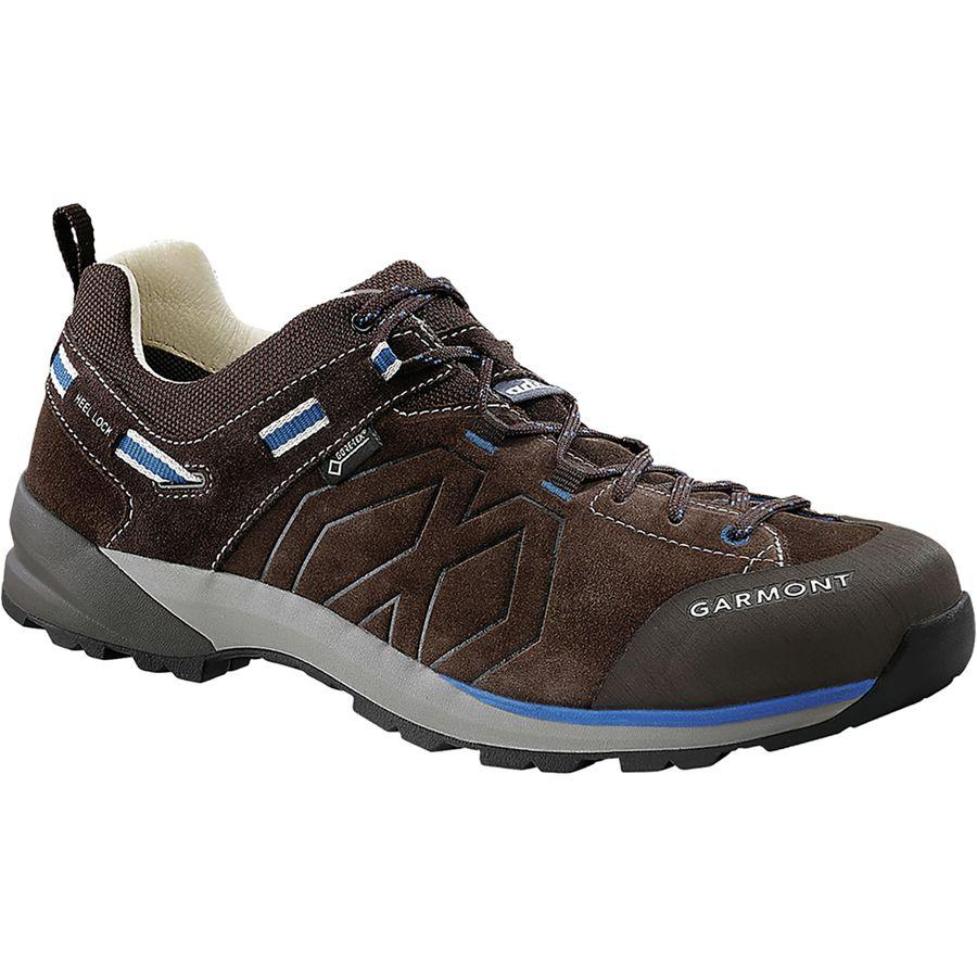 (取寄)ガルモント メンズ サンティアゴ ロウ Gtx ハイキングシューズ Garmont Men's Santiago Low GTX Hiking Shoe Dark Brown/Blue