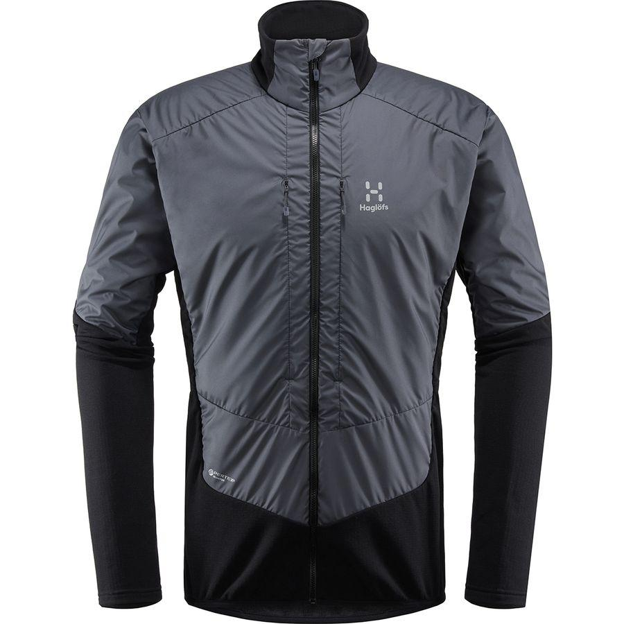 (取寄)ホグロフス メンズ ツーリング ハイブリッド ジャケット Haglofs Men's Touring Hybrid Jacket True Black/Magnetite