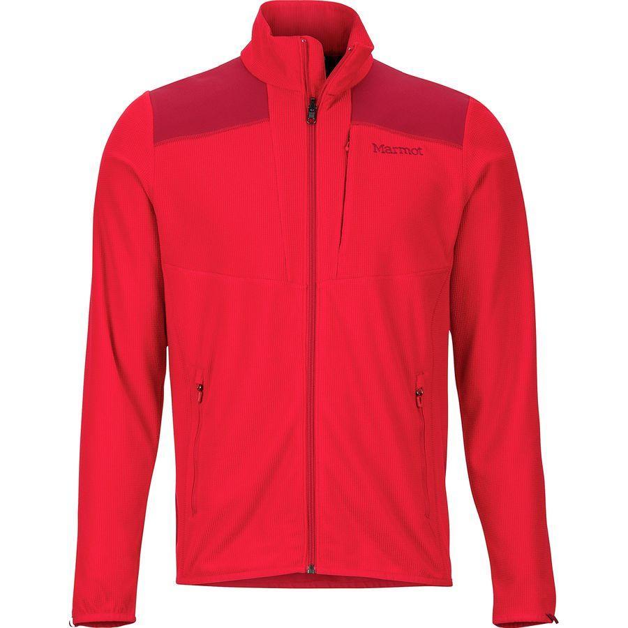 (取寄)マーモット メンズ リアクター フリース ジャケット Marmot Men's Reactor Fleece Jacket Team Red/Brick
