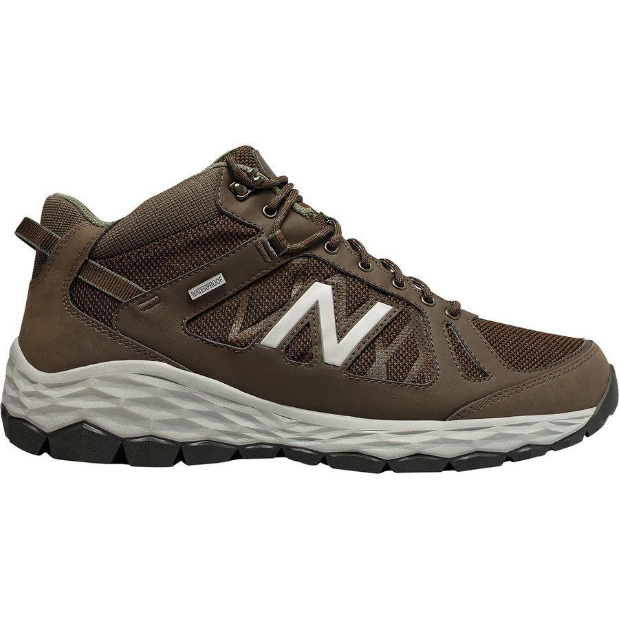 (取寄)ニューバランス メンズ 1450W1フレッシュ フォーム ハイキング ブーツ New Balance Men's 1450W1 Fresh Foam Hiking Boot Chocolate Brown/Team Away Grey