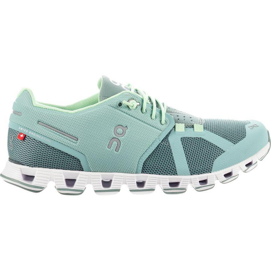 (取寄)オン フットウェアー レディース クラウド シューズ On Footwear Women Cloud Shoe Spray/Sea