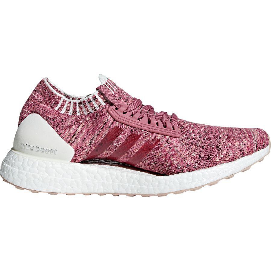 (取寄)アディダス レディース ウルトラブースト X ランニングシューズ Adidas Women Ultraboost X Running Shoe Trace Maroon F18/Ash Pearl S18/Chalk Coral S18