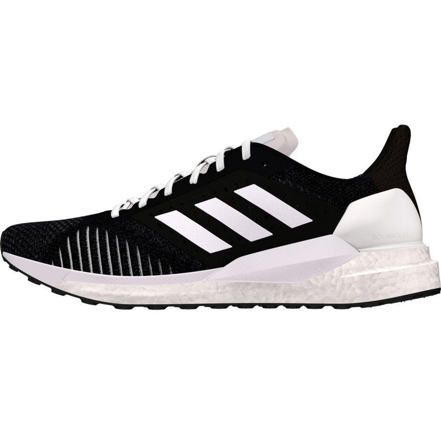 (取寄)アディダス レディース ソーラー グライド St ブースト ランニングシューズ Adidas Women Solar Glide ST Boost Running Shoe Core Black/Core Black/Footwear White