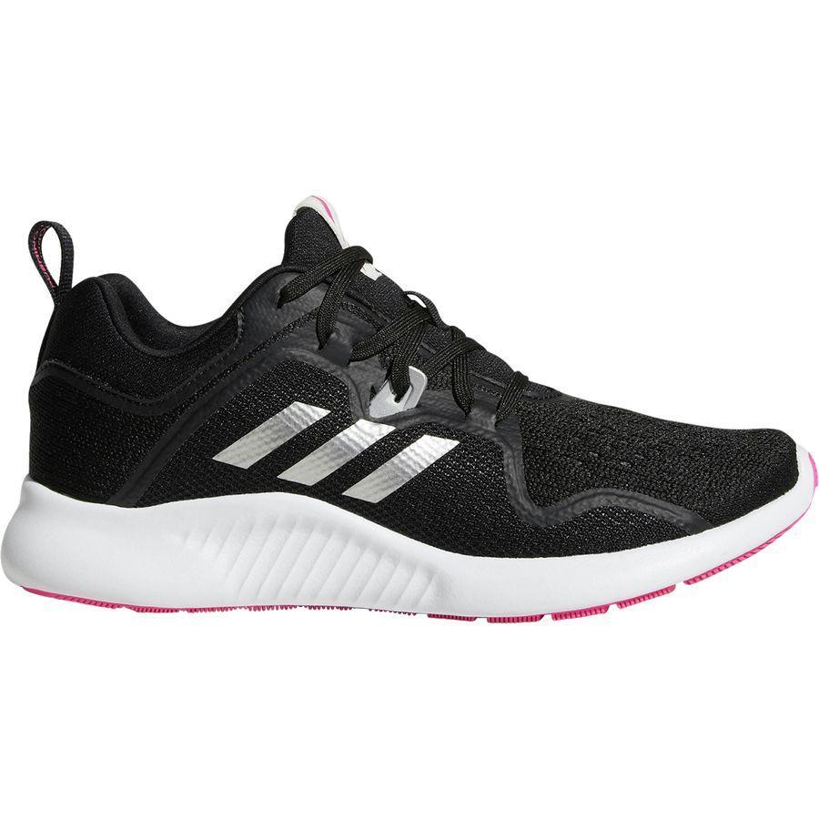 (取寄)アディダス レディース エッジバウンス ランニングシューズ Adidas Women Edgebounce Running Shoe Core Black/Silver Met/Shock Pink