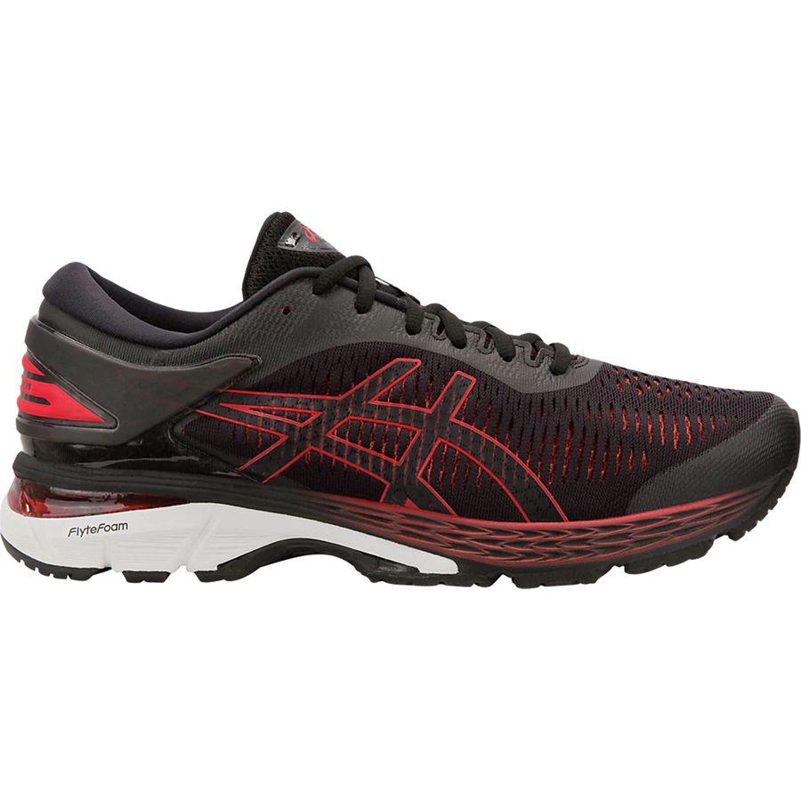 (取寄)アシックス メンズ Gel-Kayano25 ランニングシューズ Asics Men's Gel-Kayano 25 Running Shoe Black/Classic Red