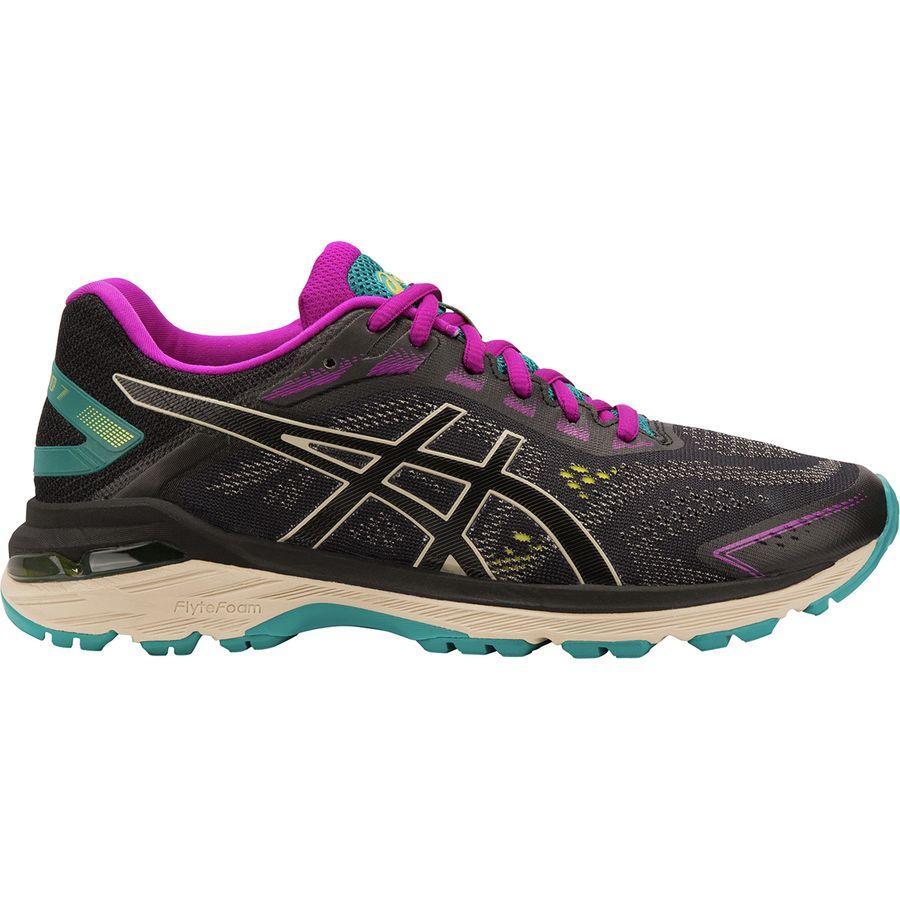 (取寄)アシックス レディース GT-20007トレイル ランニングシューズ Asics Women GT-2000 7 Trail Running Shoe Black/Feather Grey