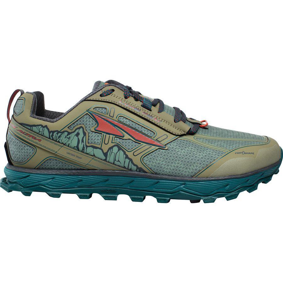 (取寄)アルトラ メンズ ローン ピーク 4ロウ RSM トレイル ランニングシューズ Altra Men's Lone Peak 4 Low RSM Trail Running Shoe Green