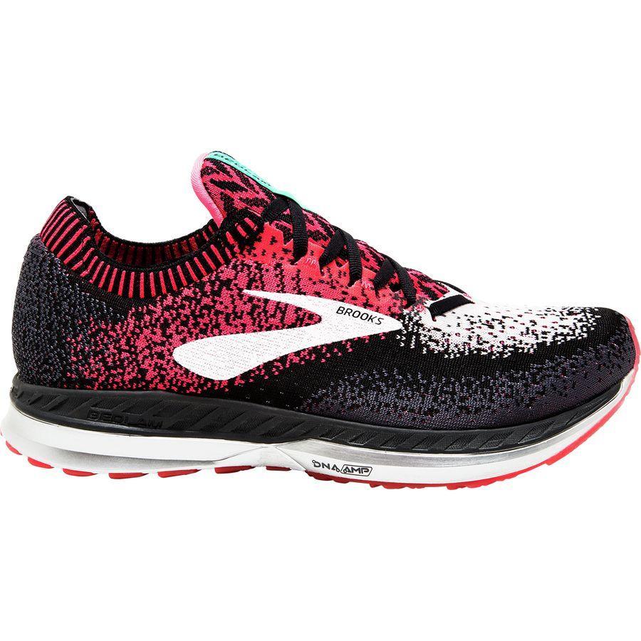 【クーポンで最大2000円OFF】(取寄)ブルックス レディース ベドラム ランニングシューズ Brooks Women Bedlam Running Shoe Pink/Black/White