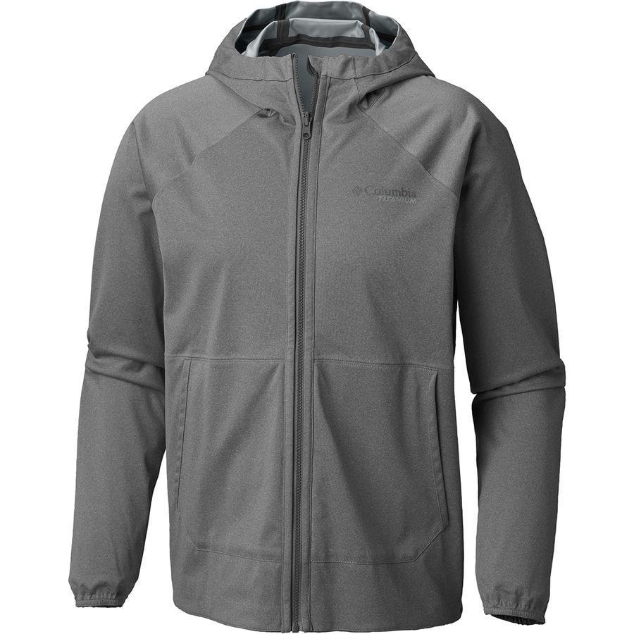 (取寄)コロンビア メンズ Titanium アウトドライ Ex リバーシブル ジャケット Columbia Men's Titanium Outdry Ex Reversible Jacket Soft Metal