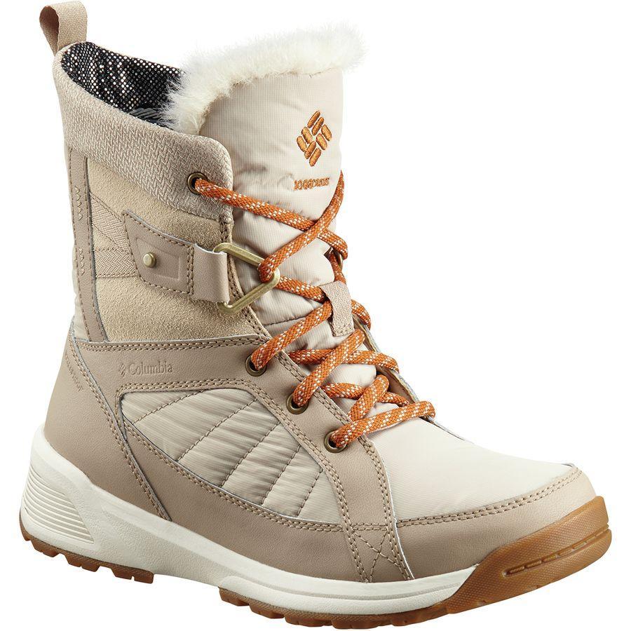 (取寄)コロンビア レディース メドウズ ショーティ オムニヒート 3D ウィンター ブーツ Columbia Women Meadows Shorty Omni-Heat 3D Winter Boot Ancient Fossil/Bright Copper