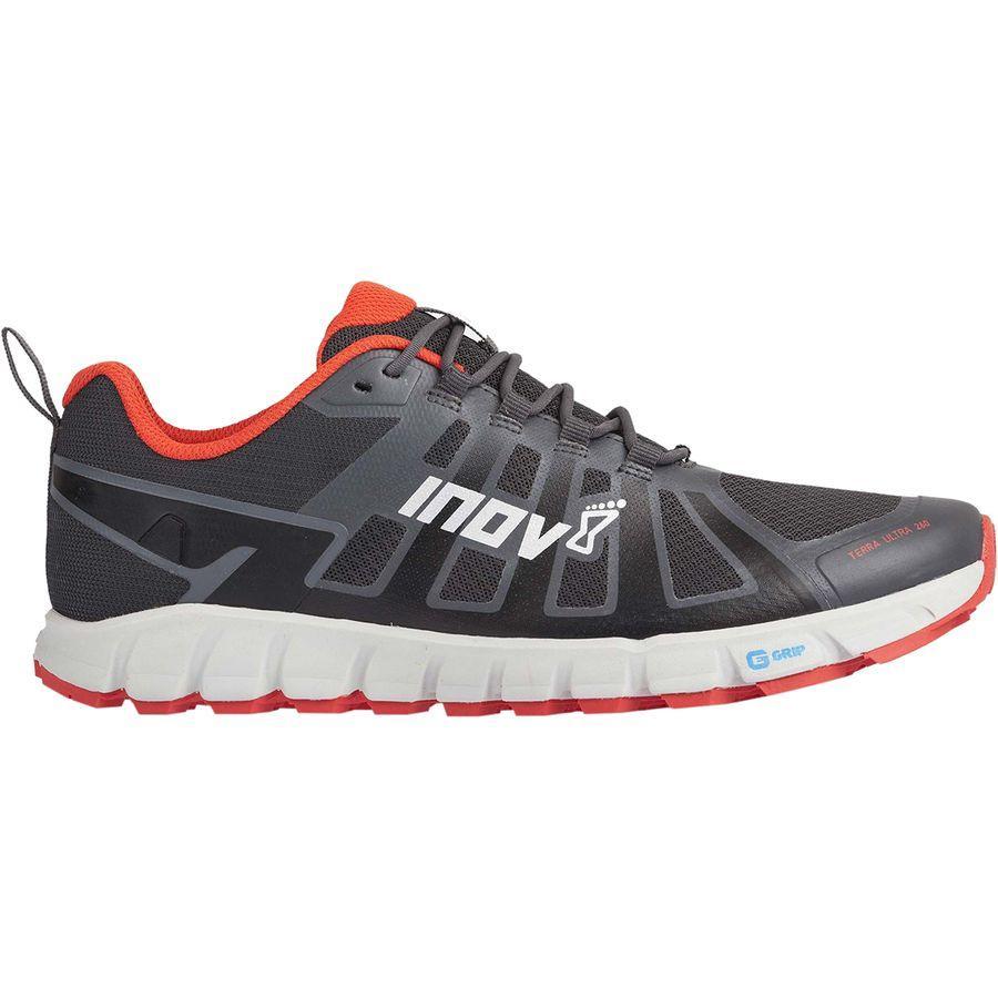 (取寄)イノヴェイト メンズ テラウトラ 260トレイル ラン シューズ Inov 8 Men's Terraultra 260 Trail Run Shoe Grey/Red