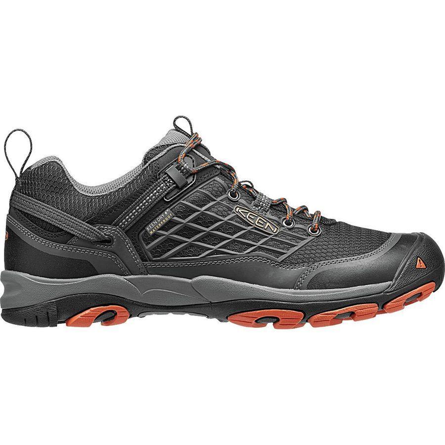 (取寄)キーン メンズ サルツマン WP ハイキングシューズ KEEN Men's Saltzman WP Hiking Shoe Raven/Koi