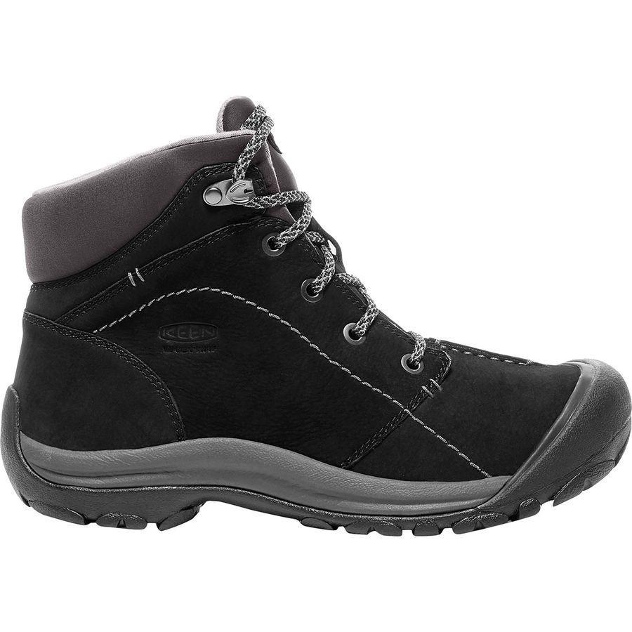 (取寄)キーン レディース ケーシー ウィンター ミッド ブーツ KEEN Women Kaci Winter Mid Boot Black/Magnet