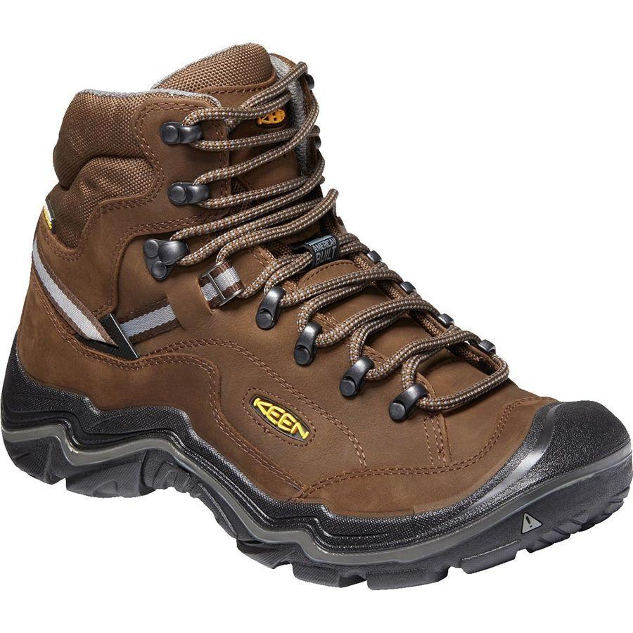 (取寄)キーン メンズ デュアランド 2 ミッド ワイド ハイキング ブーツ KEEN Men's Durand II Mid Wide Hiking Boot Cascade Brown/Gargoyle