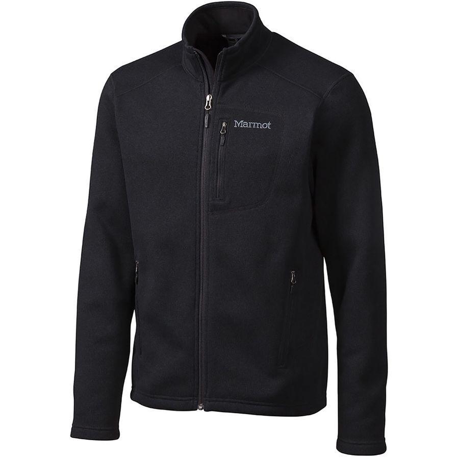 (取寄)マーモット メンズ ドロップ ライン フリース ジャケット Marmot Men's Drop Line Fleece Jacket Black
