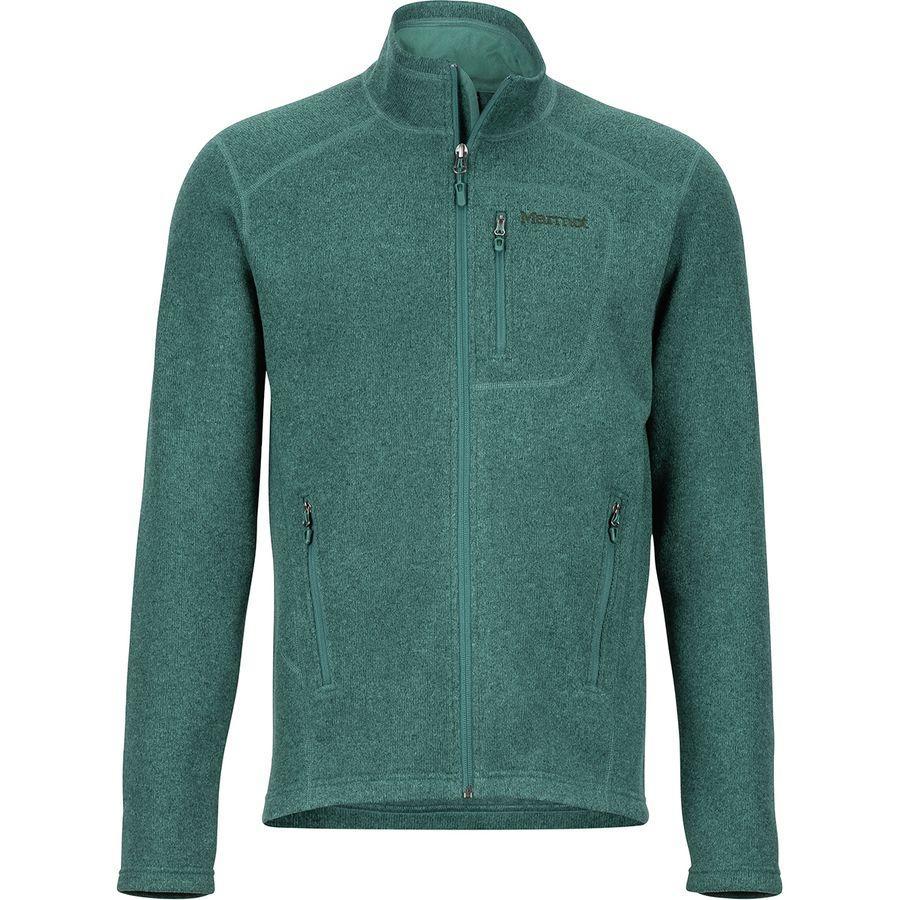(取寄)マーモット メンズ ドロップ ライン フリース ジャケット Marmot Men's Drop Line Fleece Jacket Mallard Green