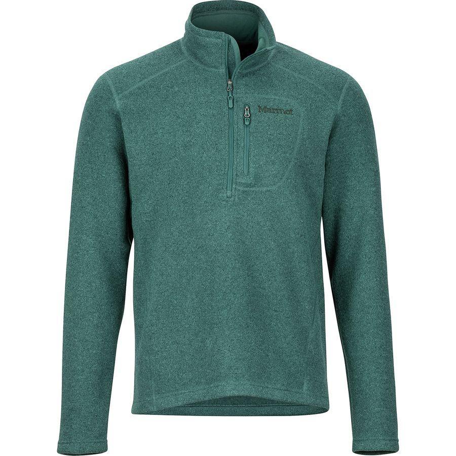 (取寄)マーモット メンズ ドロップ ライン 1/2-Zip フリース ジャケット Marmot Men's Drop Line 1/2-Zip Fleece Jacket Mallard Green