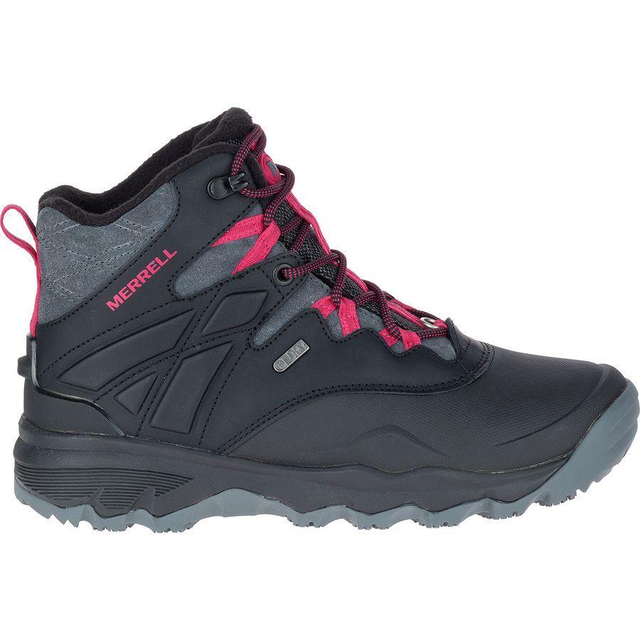(取寄)メレル レディース サーモ アドベンチャー アイス+ 6in ブーツ Merrell Women Thermo Adventure Ice+ 6in Boot Black