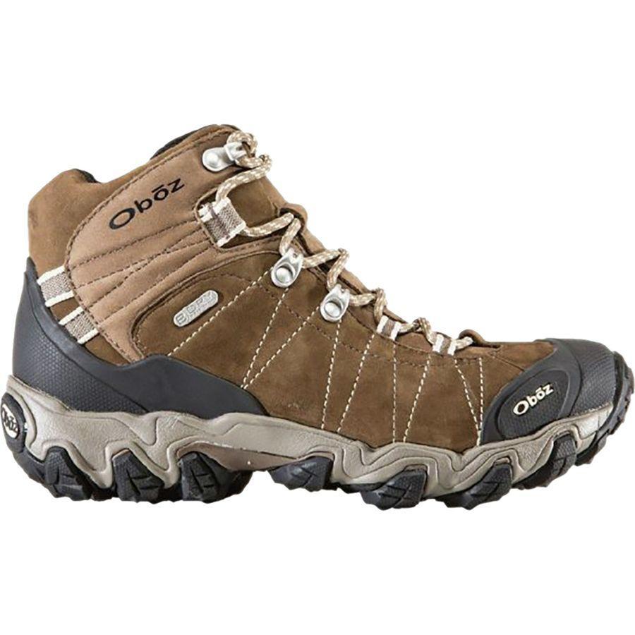 (取寄)オボズ レディース ブリッガー ミッド B-Dryワイド ハイキング ブーツ Oboz Women Bridger Mid B-Dry Wide Hiking Boot Walnut
