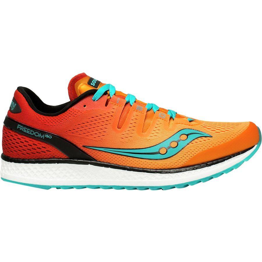 (取寄)サッカニー メンズ フリーダム アイエスオー ランニングシューズ Saucony Men's Freedom ISO Running Shoe Orange/Red/Teal