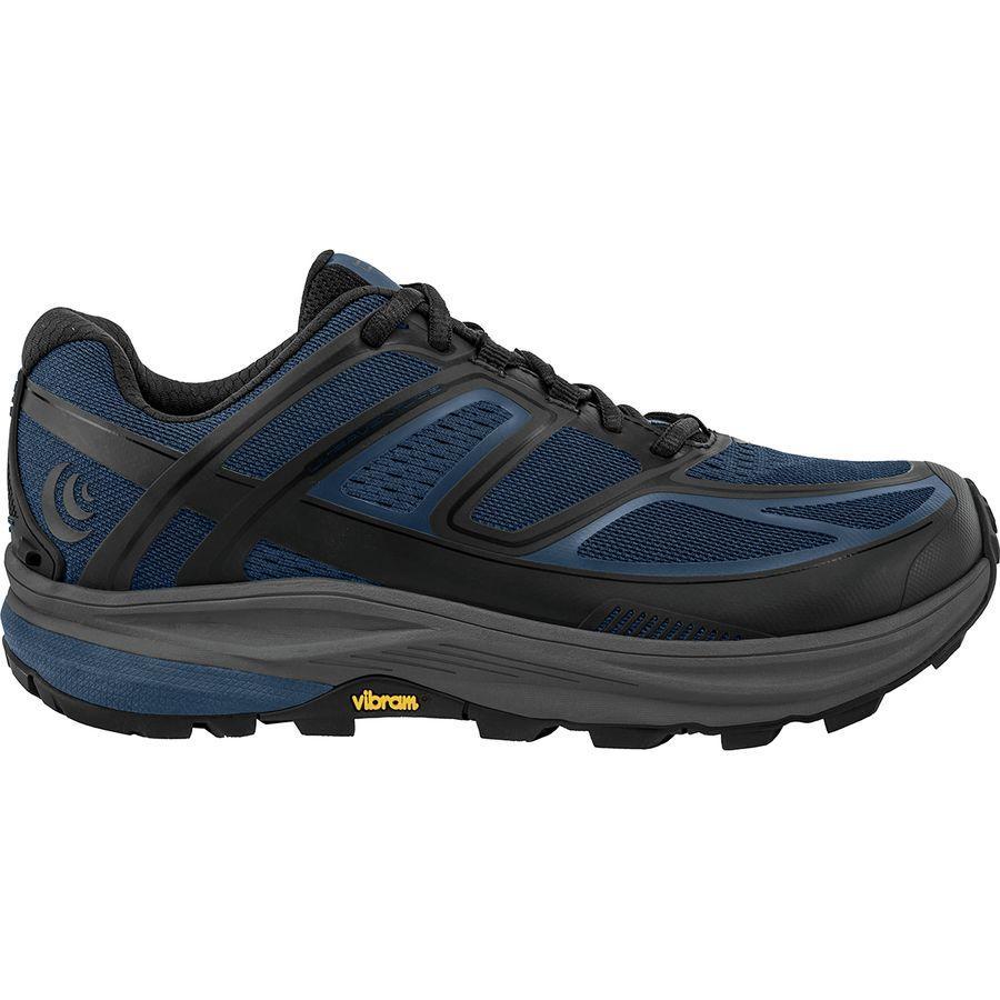 (取寄)トポアスレチック メンズ ウルトラベンチャー トレイル ランニングシューズ Topo Athletic Men's Ultraventure Trail Running Shoe Navy/Black