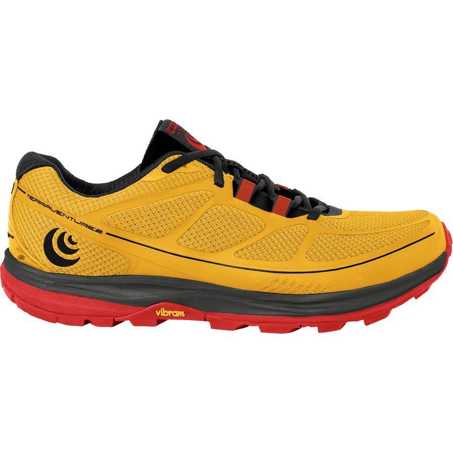 (取寄)トポアスレチック メンズ Terraventure 2 トレイル ランニングシューズ Topo Athletic Men's Terraventure 2 Trail Running Shoe Yellow/Black