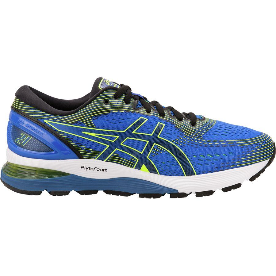 (取寄)アシックス メンズ Gel-Nimbus21 ランニングシューズ Asics Men's Gel-Nimbus 21 Running Shoe Illusion Blue/Black