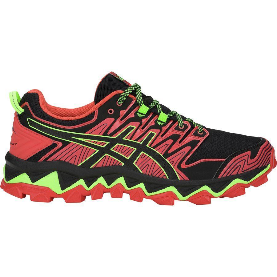 (取寄)アシックス メンズ Gel-Fujitrabuco7トレイル ランニングシューズ Asics Men's Gel-Fujitrabuco 7 Trail Running Shoe Red Snapper/Black