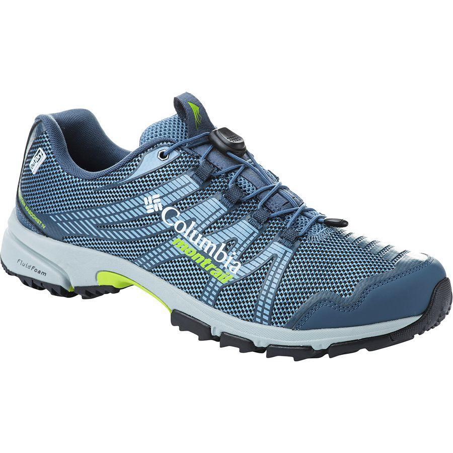 (取寄)コロンビア メンズ マウンテン マソヒスト 4 アウトドライ ハイキングシューズ Columbia Men's Mountain Masochist IV Outdry Hiking Shoe Steel/Bright Green