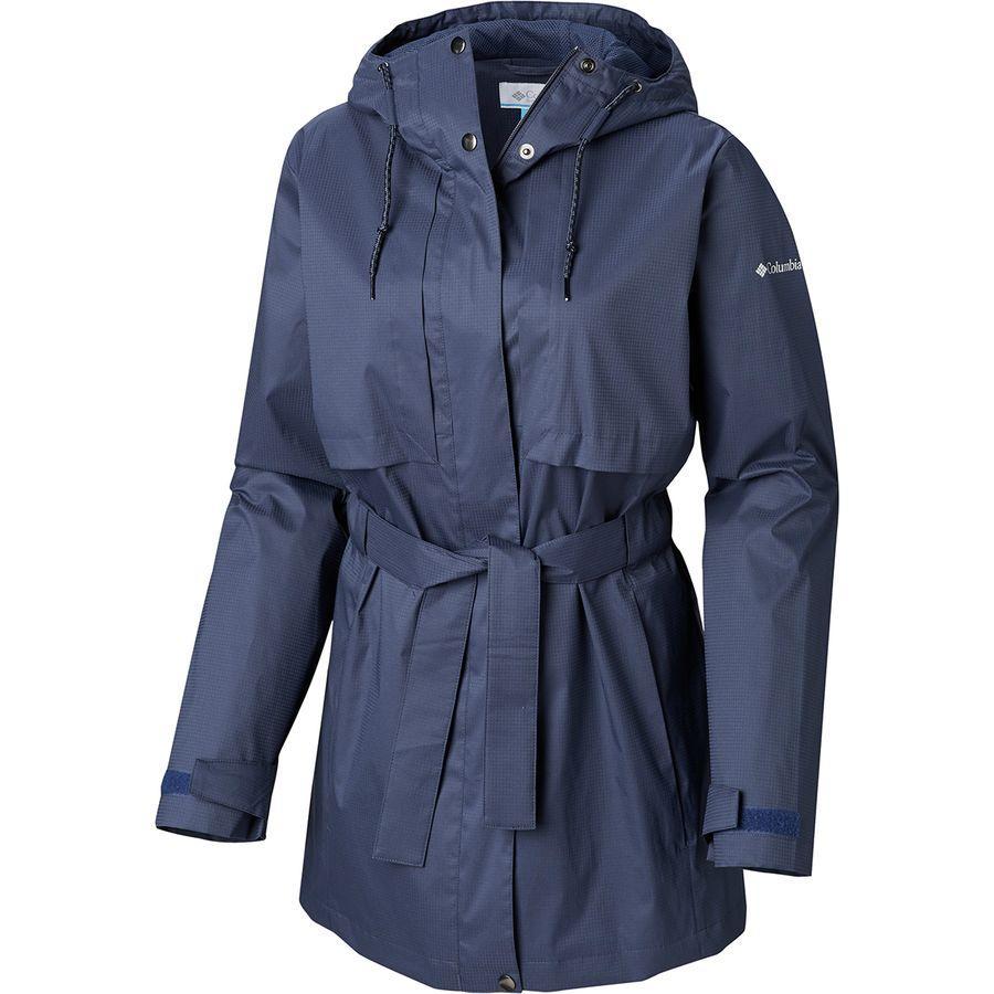 (取寄)コロンビア レディース パードン マイ トレンチ レイン ジャケット Columbia Women Pardon My Rain Jacket Trench Nocturnal
