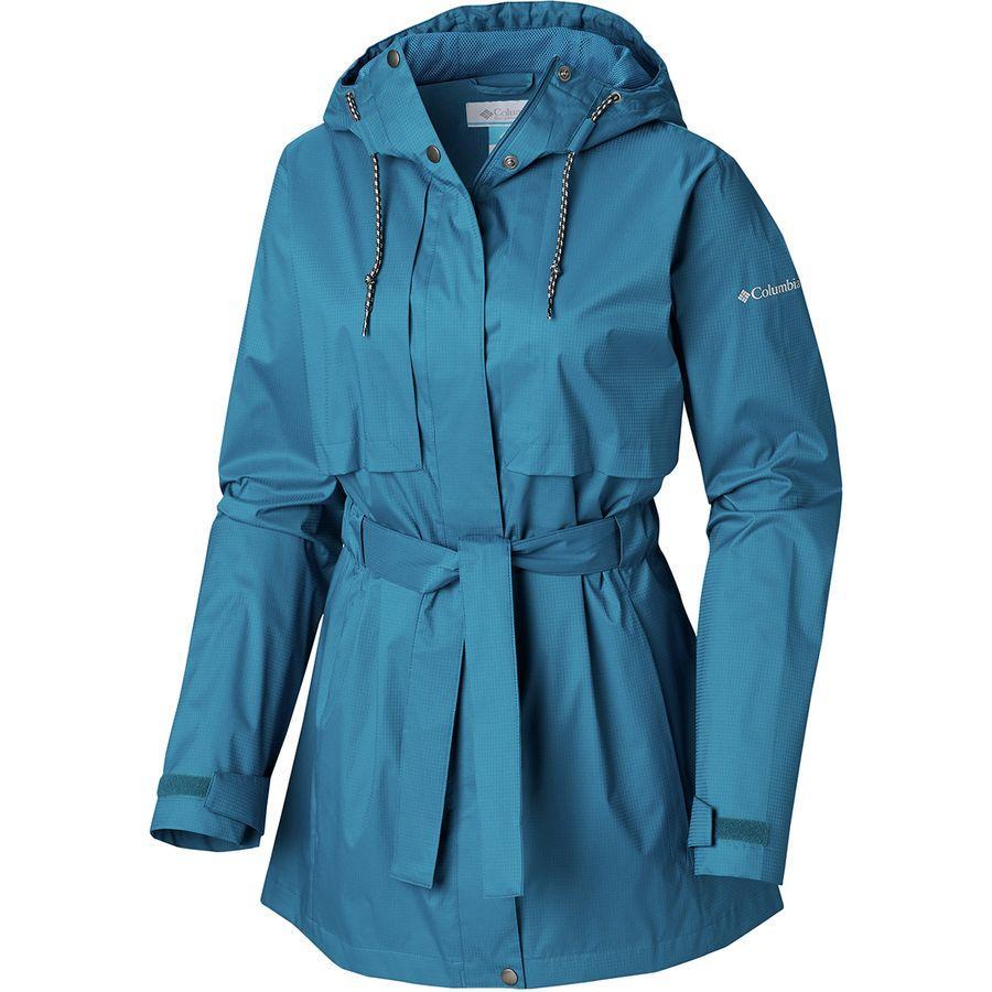 (取寄)コロンビア レディース パードン マイ トレンチ レイン ジャケット Columbia Women Pardon My Rain Jacket Trench Siberia