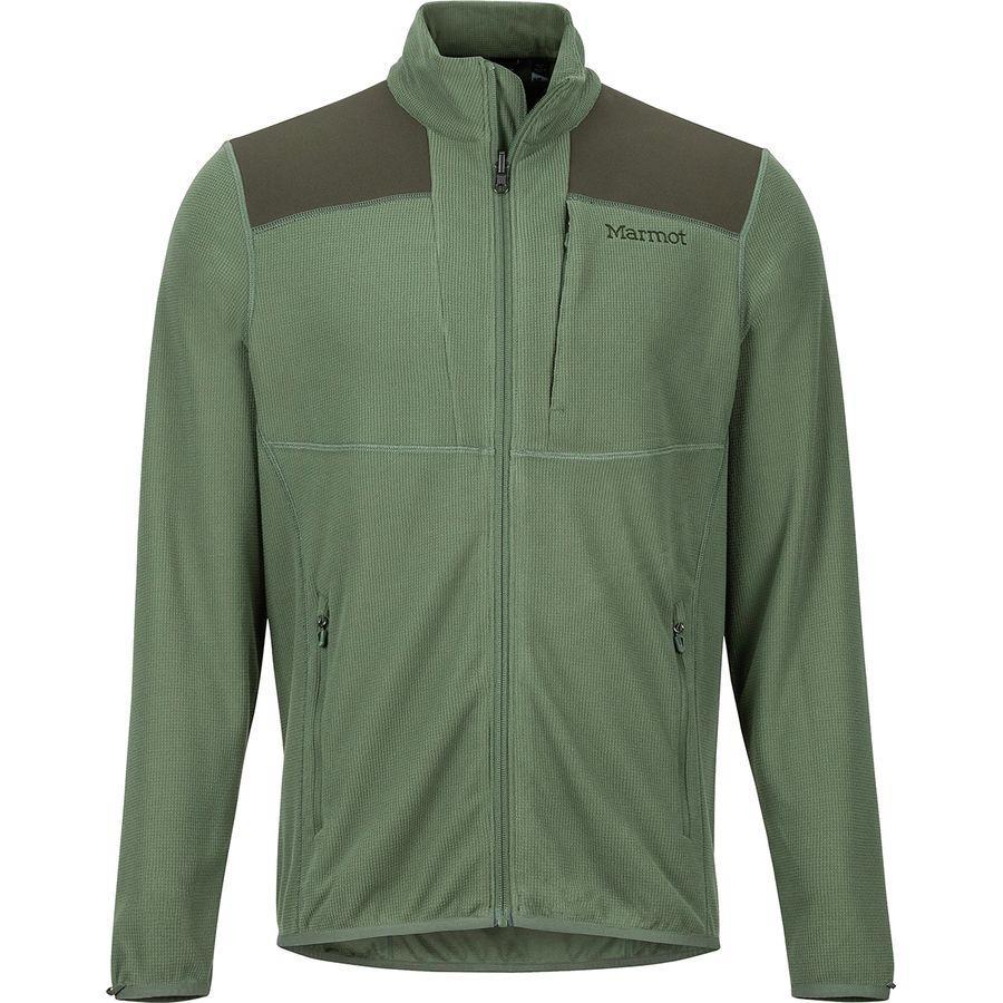 (取寄)マーモット メンズ リアクター フリース ジャケット Marmot Men's Reactor Fleece Jacket Crocodile/Rosin Green