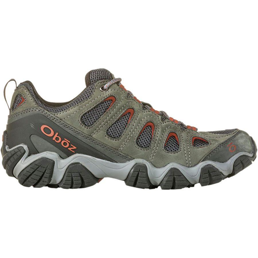 (取寄)オボズ メンズ ソートゥース 2 ロウ ハイキングシューズ Oboz Men's Sawtooth II Low Hiking Shoe Dark Shadow/Brandy Brown