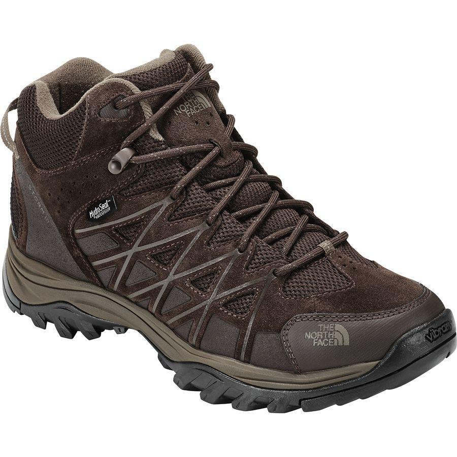 (取寄)ノースフェイス メンズ ストーム 3 ミッド ハイキング ブーツ The North Face Men's Storm III Mid Hiking Boot Coffee Brown/Shroom Brown