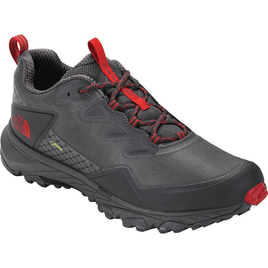 (取寄)ノースフェイス メンズ ウルトラ ファストパック 3 Gtx ハイキングシューズ The North Face Men's Ultra Fastpack III GTX Hiking Shoe Blackened Pearl/Tnf Red