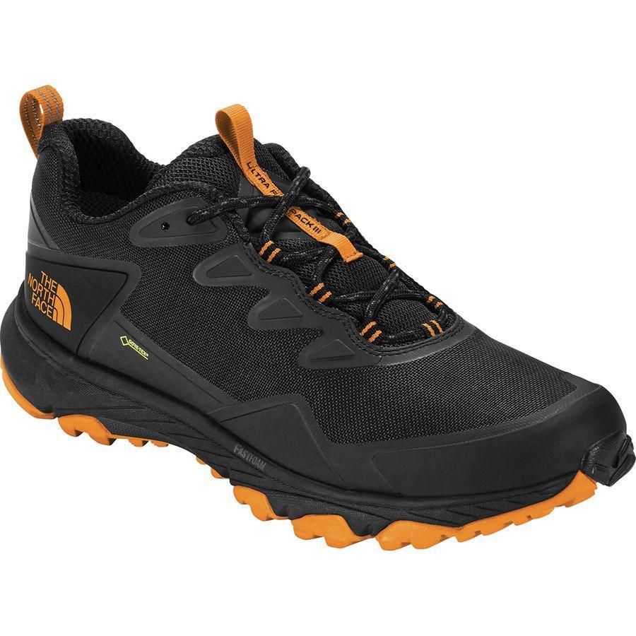 (取寄)ノースフェイス メンズ ウルトラ ファストパック 3 Gtx ハイキングシューズ The North Face Men's Ultra Fastpack III GTX Hiking Shoe Tnf Black/Zinnia Orange