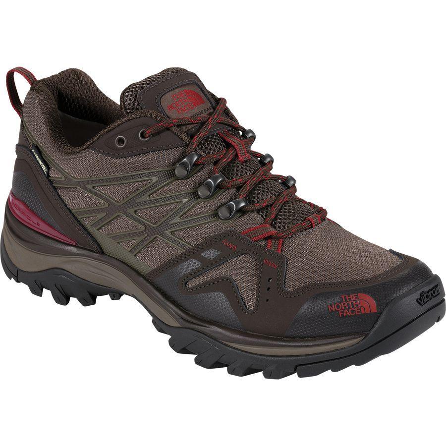 (取寄)ノースフェイス メンズ ヘッジホッグ ファストパック Gtx ワイド ハイキングシューズ The North Face Men's Hedgehog Fastpack GTX Wide Hiking Shoe Coffee Brown/Rosewood Red