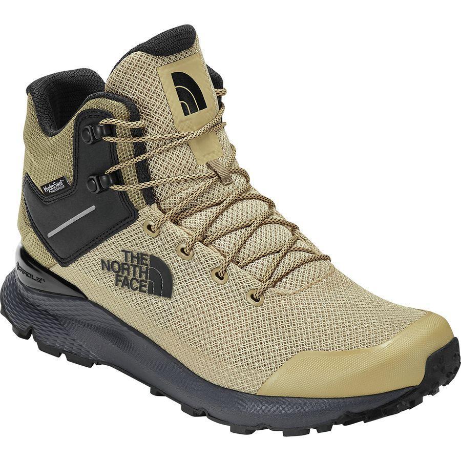【クーポンで最大2000円OFF】(取寄)ノースフェイス メンズ ヴァルス ミッド ハイキングシューズ The North Face Men's Vals Mid Hiking Shoe Mojave Desert Tan/Tnf Black