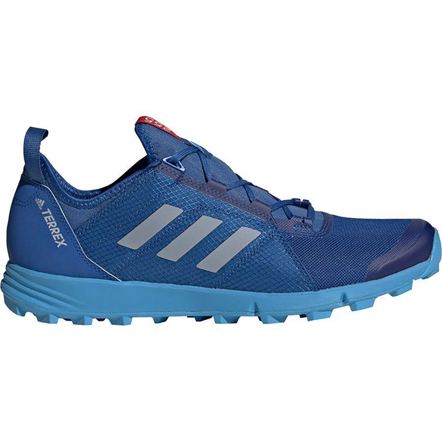 (取寄)アディダス メンズ アウトドア テレックス アグラヴィック スピード トレイル ランニングシューズ Adidas Men's Outdoor Terrex Agravic Speed Trail Running Shoe Blue Beauty/Grey Two/Shock Cyan