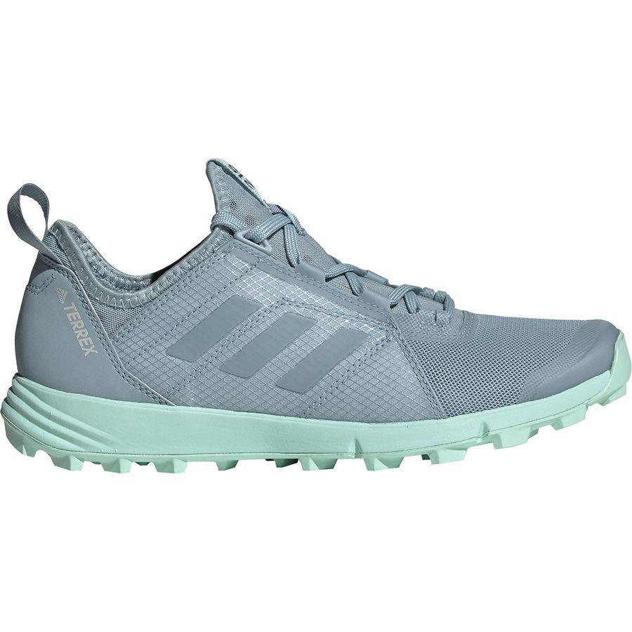 (取寄)アディダス レディース アウトドア テレックス アグラヴィック スピード トレイル ランニングシューズ Adidas Women Outdoor Terrex Agravic Speed Trail Running Shoe Ash Grey/Ash Grey/Clear Mint