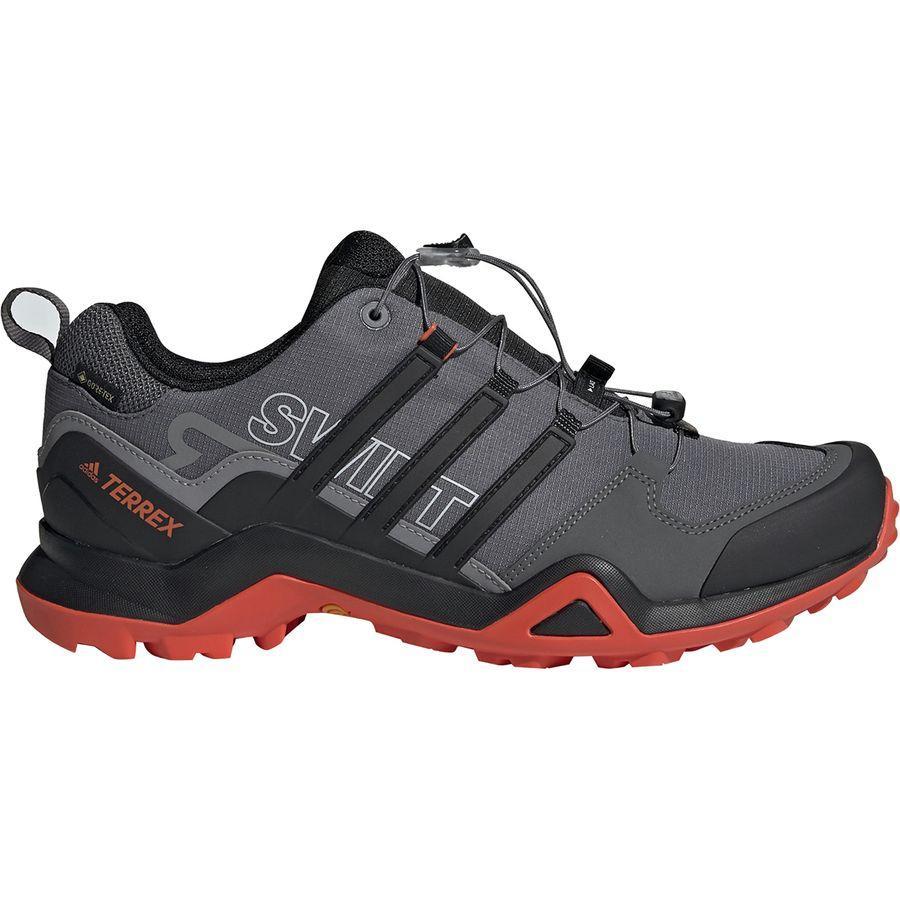 (取寄)アディダス メンズ アウトドア テレックス スウィフト R2 Gtx ハイキングシューズ Adidas Men's Outdoor Terrex Swift R2 GTX Hiking Shoe Grey Five/Black/Active Orange