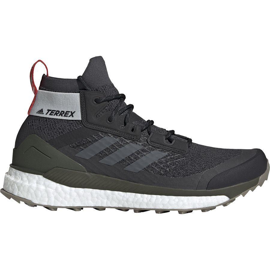 (取寄)アディダス メンズ アウトドア テレックス フリー ハイカー ブーツ Adidas Men's Outdoor Terrex Free Hiker Boot Black/Grey Six/Night Cargo