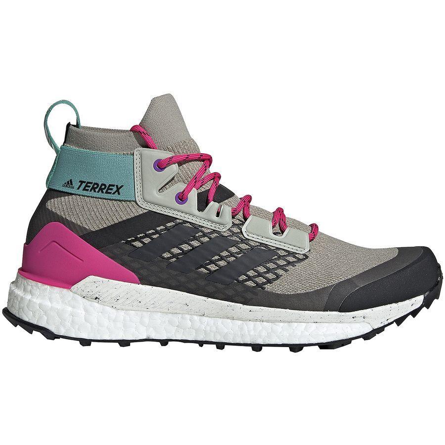 (取寄)アディダス メンズ アウトドア テレックス フリー ハイカー ブーツ Adidas Men's Outdoor Terrex Free Hiker Boot Sesame/Raw White/Real Magenta