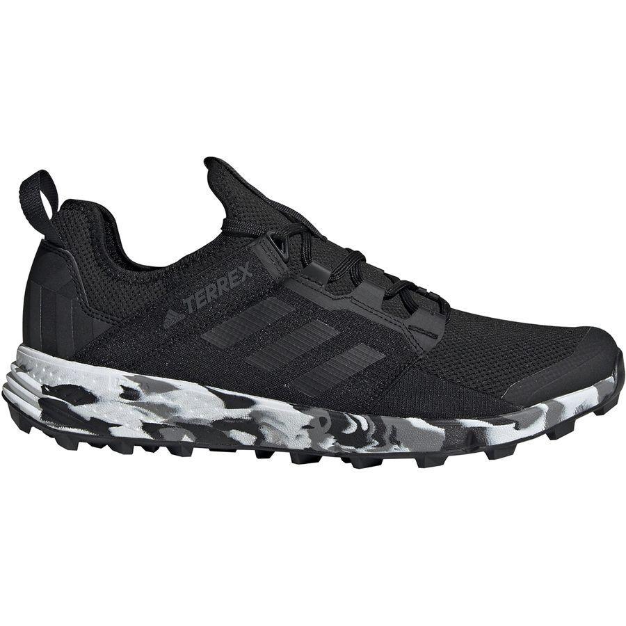 (取寄)アディダス メンズ アウトドア テレックス アグラヴィック スピード プラス トレイル ランニングシューズ Adidas Men's Outdoor Terrex Agravic Speed Plus Trail Running Shoe Black/Non-dyed/Carbon