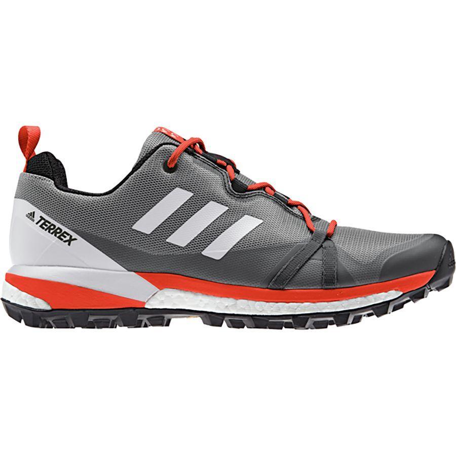 (取寄)アディダス メンズ アウトドア テレックス スカイチェイサー LT ハイキングシューズ Adidas Men's Outdoor Terrex Skychaser LT Hiking Shoe Grey Three/Grey One/Active Orange